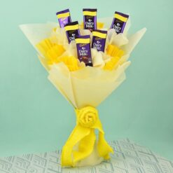 Chocolate Day Dairy Milk Bouquet