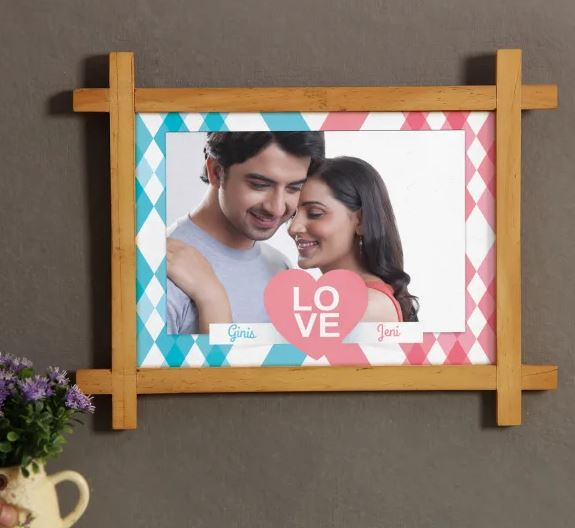 Cute Wooden Photo Frame