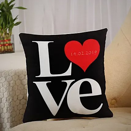 Lovely LOVE Written Cushion