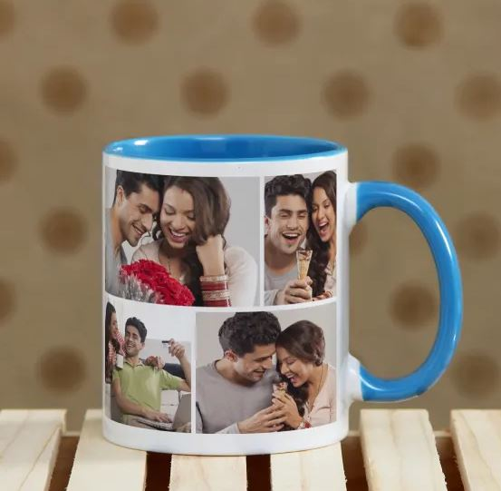 Personalized Blue Mug