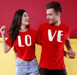 Printed LOVE T-Shirts