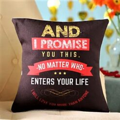 Promise Quote Cushion