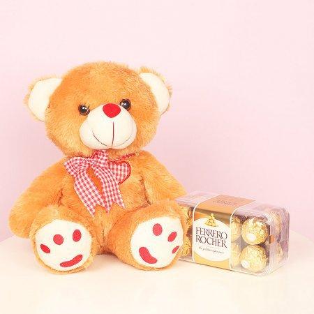 Teddy with Ferrero