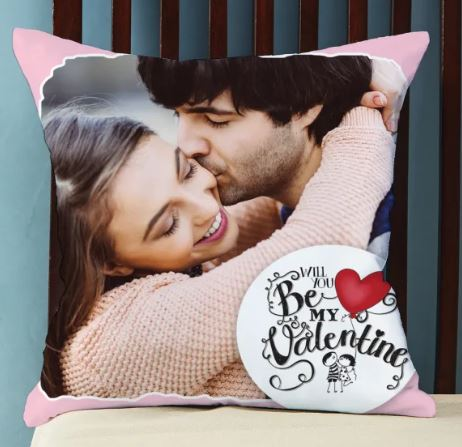 Valentines Personalized Cushion