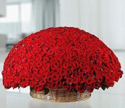 Big Roses Basket