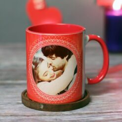 Lovely Red Personalised Mug