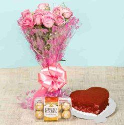 Velvet with Ferrero Combo