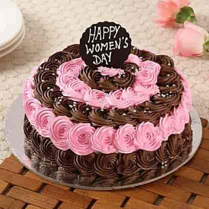 Designer Women's Day Cake