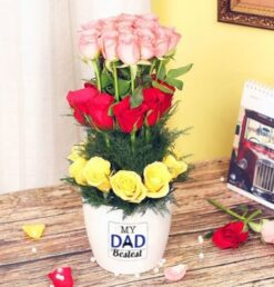 Flowers Vase for Dad