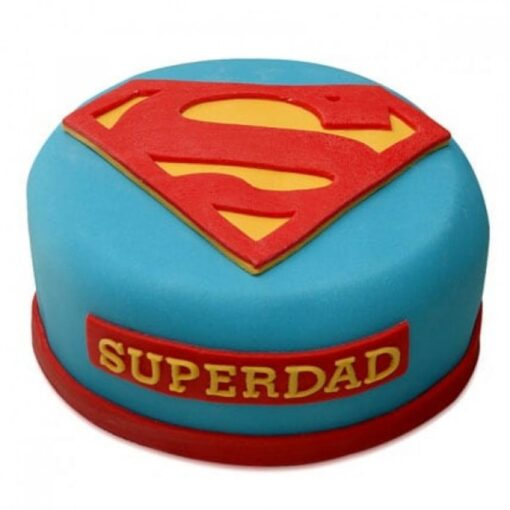 My SuperDad Cake