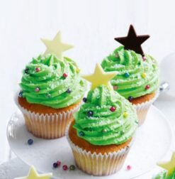 Colourfull Stars Cup Cakes